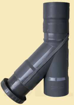 Sifon vertical pluviales